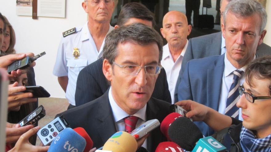"""Feijóo ratifica que """"hay contratos"""" con Pemex, aunque falte """"ajustar"""" características """"técnicas"""" de los floteles"""