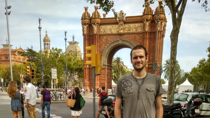 Francisco Garrobo es muy conocido en el mundo asociativo de Barcelona