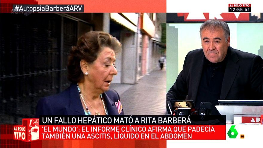Ferreras denuncia que TVE calla sobre el motivo real de la muertede Barberá
