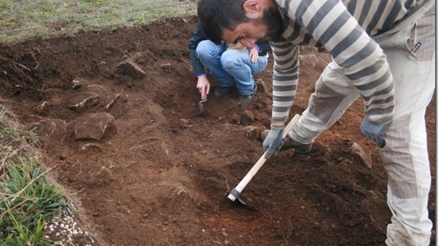 Comienzan las excavaciones en el campamento romano de El Cincho