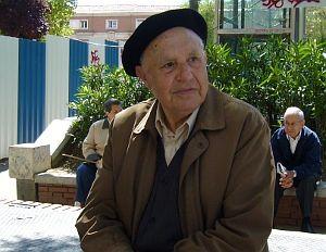 Ángel Gómez, en la calle Barceló | Foto A.P