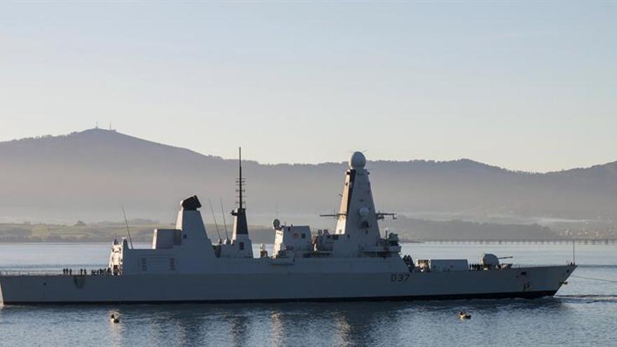 La SNMG1 de la OTAN ha llegado a Santander y podrá visitarse el fin de semana