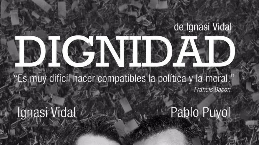 Ignasi Vidal (i) y Pablo Puyol protagonizan la obra.