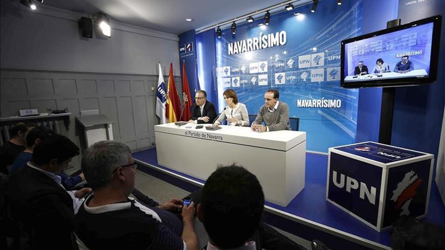Barcina apela a Iglesias y al PNV para cerrar el paso a EH Bildu en Pamplona