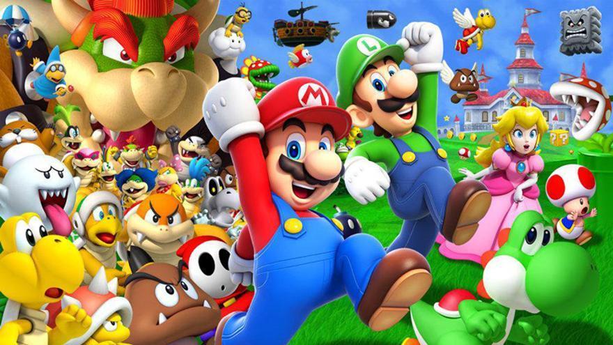Los cinco mejores videojuegos de Super Mario