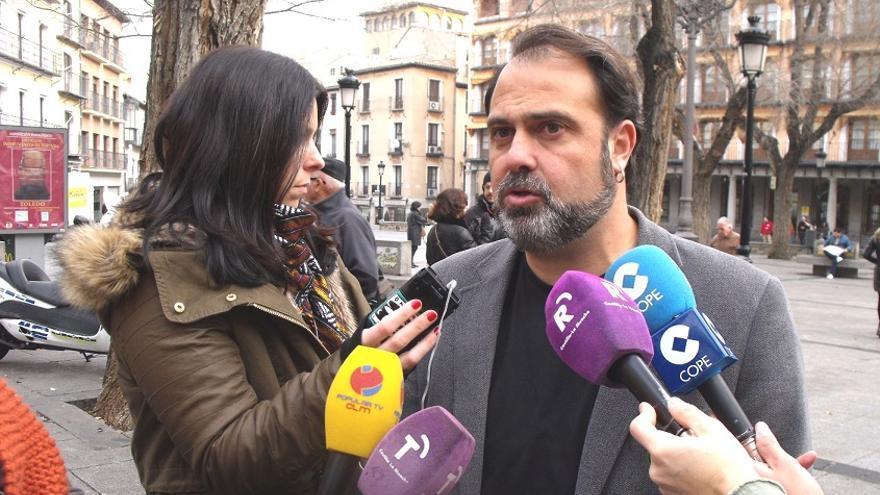 Javier Mateo, candidato de Izquierda Unida a la alcadía de Toledo