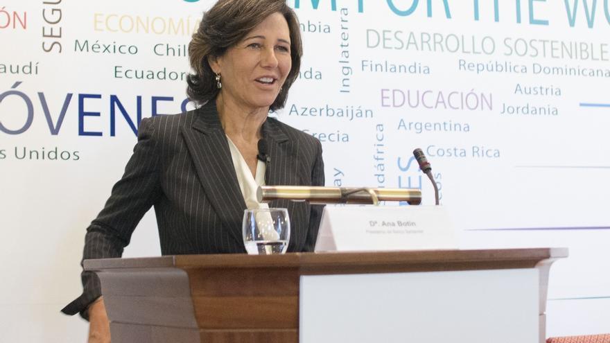 Ana Botín sigue perdiendo posiciones entre las mujeres más ricas de España, según Forbes, con 1.575 millones