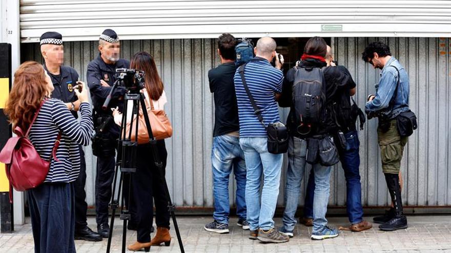 Reporteros Sin Fronteras pide respeto al ejercicio del periodismo en Cataluña