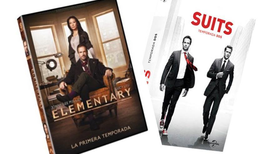 Regalamos packs de las series 'Suits' y 'Elementary'