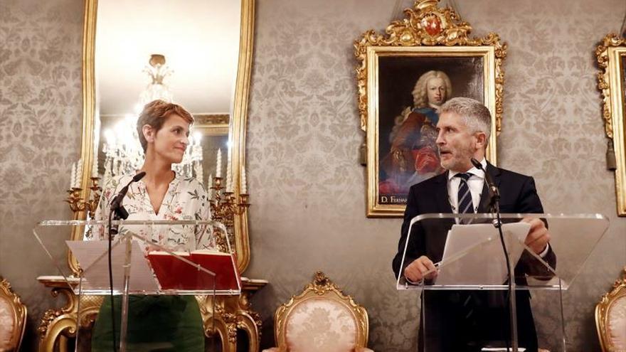 "Chivite acusa a Rivera de utilizar a Navarra como ""ariete"" contra Sánchez"