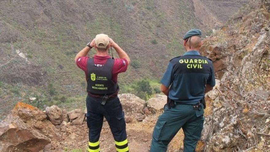 El Cabildo de Gran Canaria inspecciona a más de 60 cazadores, denuncia a una decena y requisa seis escopetas por practicar esta actividad en zonas de seguridad