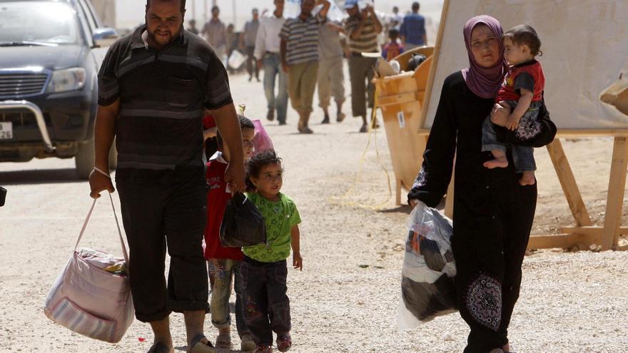 """Jordania será firme ante las """"provocaciones"""" tras los choques en un campo de refugiados"""