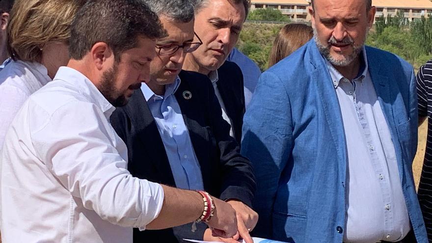 """El informe sobre efectos del cambio climático en la cabecera del Tajo permitirá fijar una """"lámina de agua razonable"""""""