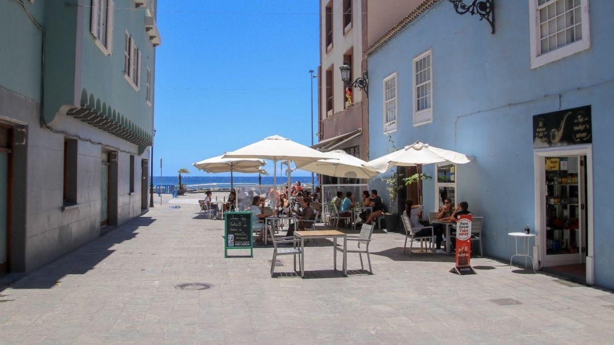 Imagen de archivo de la Calle Apurón de Santa Cruz de La Palma.
