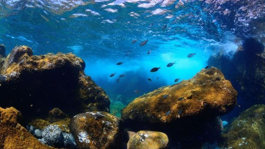 Mar de las calmas, en El Hierro.