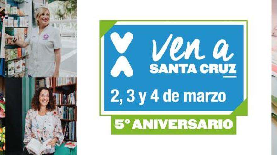 Imagen promocional del 'Ven a Santa Cruz, V aniversario'