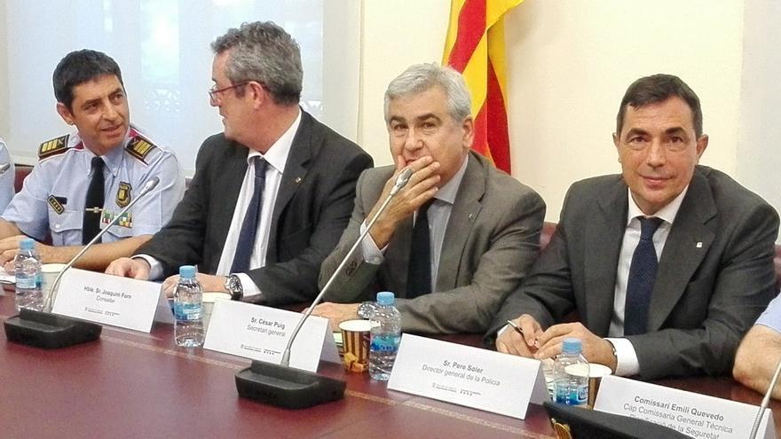 """Forn dice que los Mossos permitirán que el 1-O se vote con """"tranquilidad y seguridad"""""""