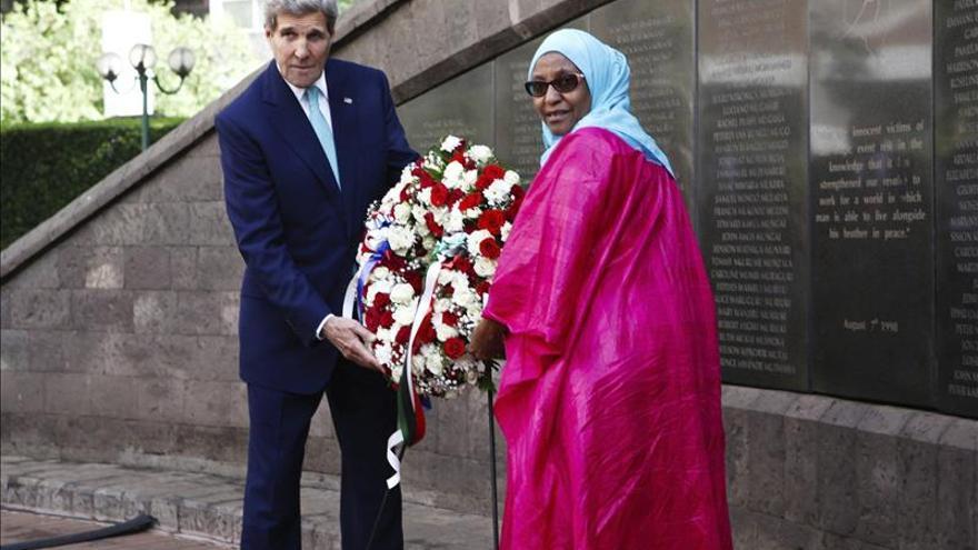 Kerry pide a Kenia que siga acogiendo a refugiados somalís