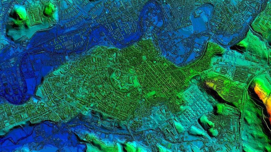 Más de 160.000 archivos de información cartográfica de Navarra se pueden descargar gratuitamente de Internet