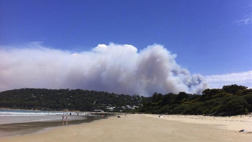 Al menos 60 viviendas destruidas por los incendios en el sur de Australia