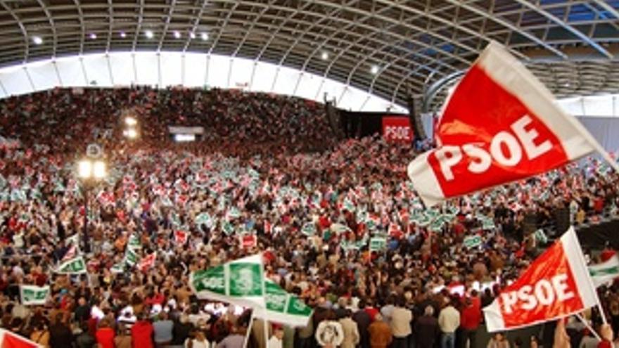Mitin Del PSOE En Dos Hermanas