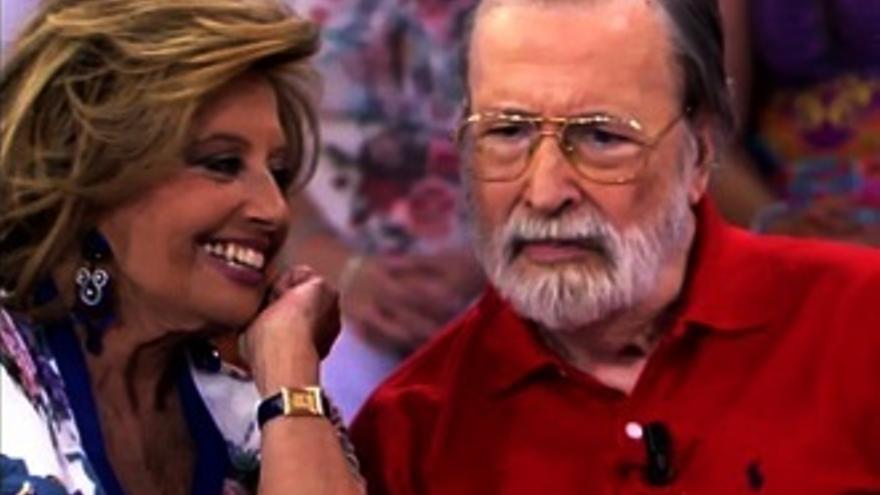 Emocionante reaparición televisiva de Chicho Ibáñez Serrador, con la Campos