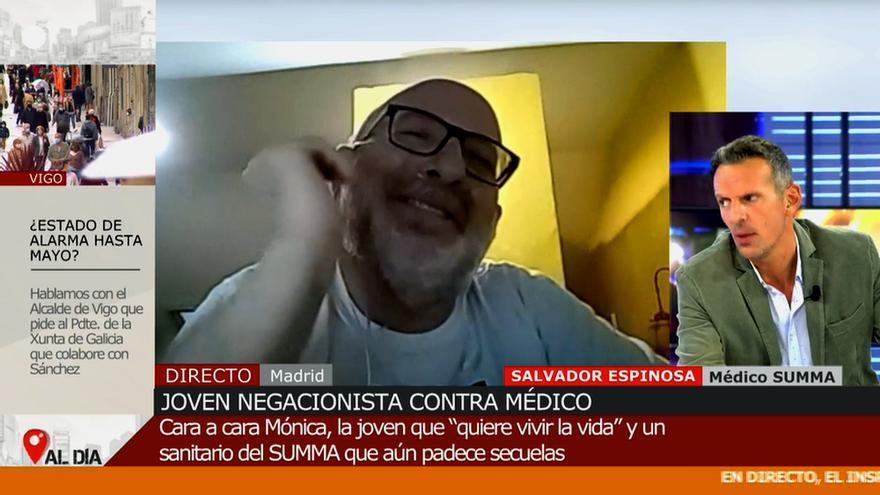 Joaquín Prat se enfada en 'Cuatro al día'
