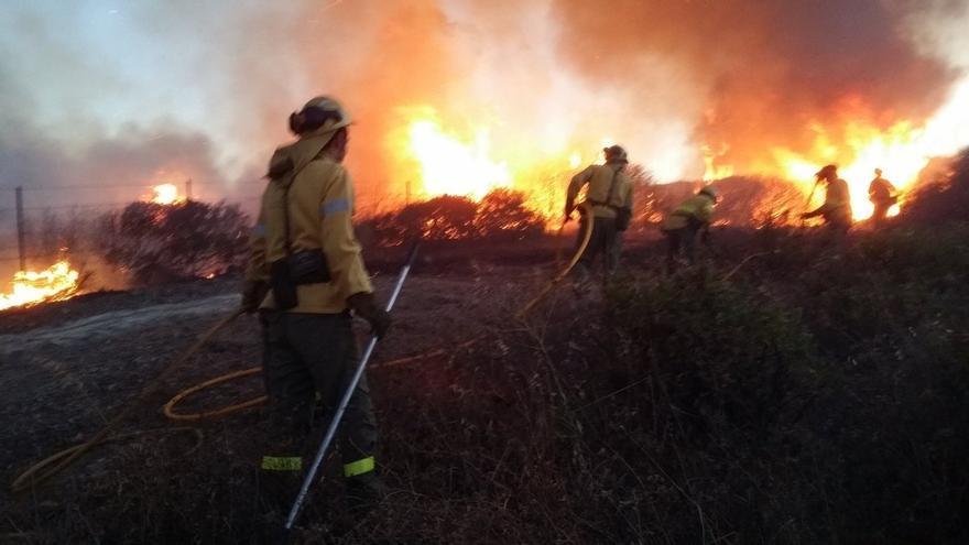 La Agencia de Medio Ambiente y Agua entrega un nuevo modelo de casco a los bomberos forestales del Infoca