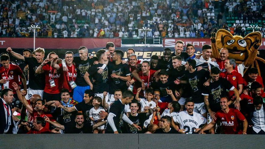 El Valencia CF, campeón de Copa