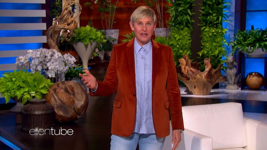 Ellen DeGeneres, en su vuelta a televisión