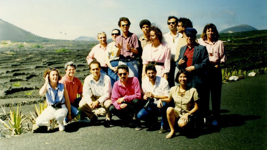 Taller de Gonzalo Rojas en Lanzarote