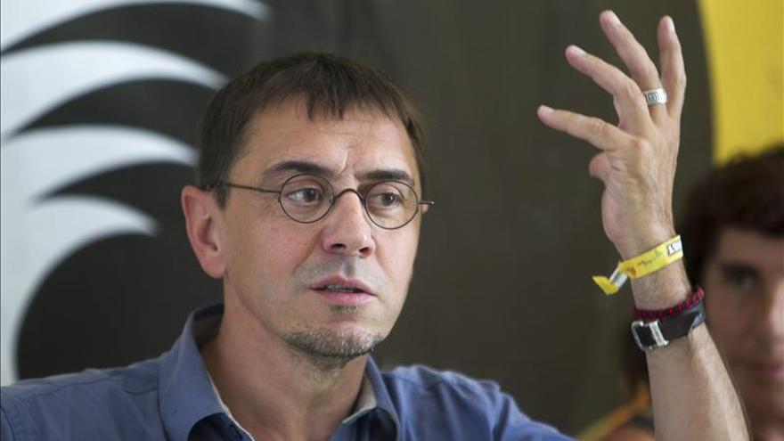 Monedero aboga por el federalismo y por fórmulas que integren y no fragmenten