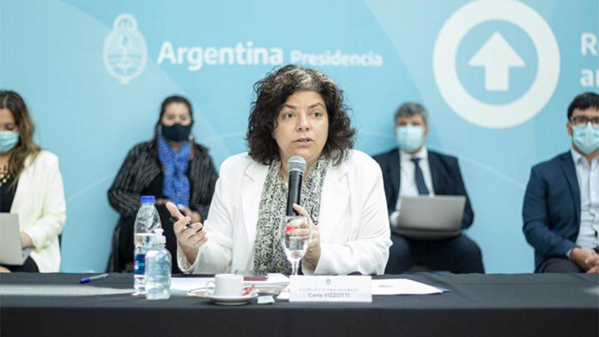 La ministra Carla Vizzotti encabezó una nueva reunión del Consejo Federal de Salud.