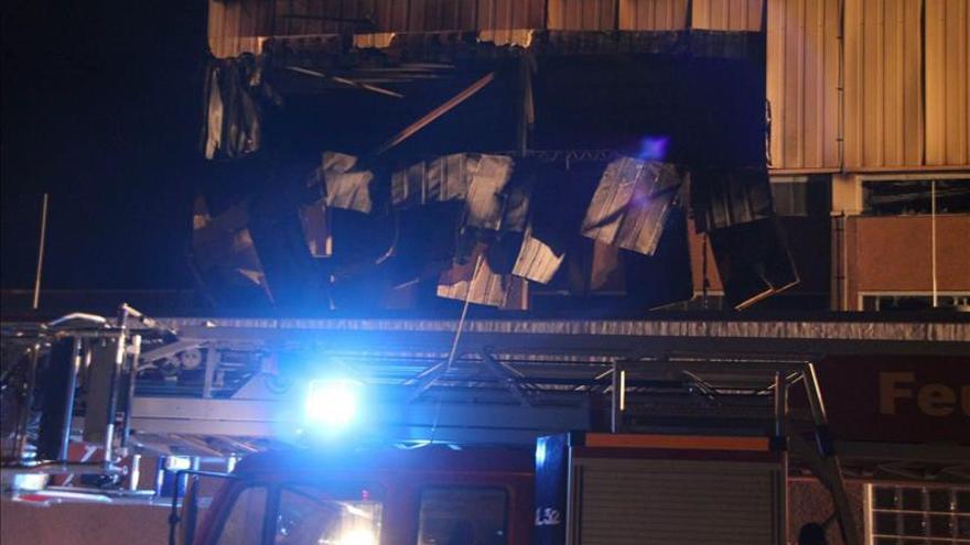 Alemania ha registrado varios incendios y ataques a edificios destinados a la acogida de refugiados. / Efe.