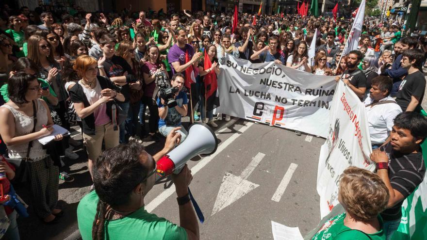 CGT convocó huelga de docentes el pasado 6 de mayo. Foto: Juan Manzanara