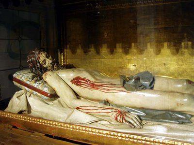 Cristo yacente de Gregorio Fernández   Foto: CARLOS OSORIO