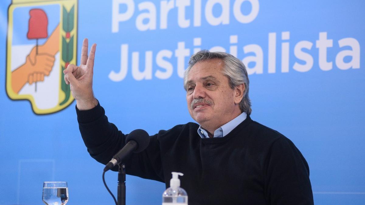 Alberto Fernández asistió a la reunión antes de su viaje a Europa