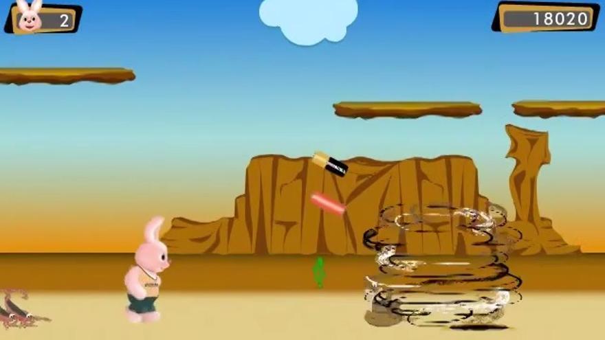 Pantalla del juego Bunny Race
