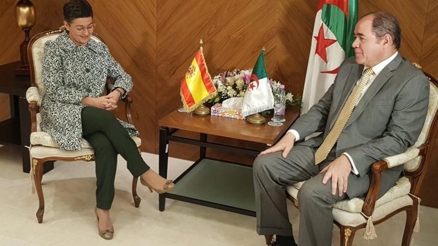 """España y Argelia se muestran """"cien por cien de acuerdo"""" en que la frontera marítima se debe negociar"""