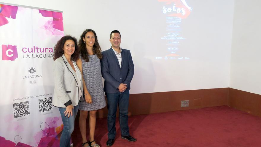 María José Castañeda (i), Naomi H. Santos (centro) y José Téllez Ledesma