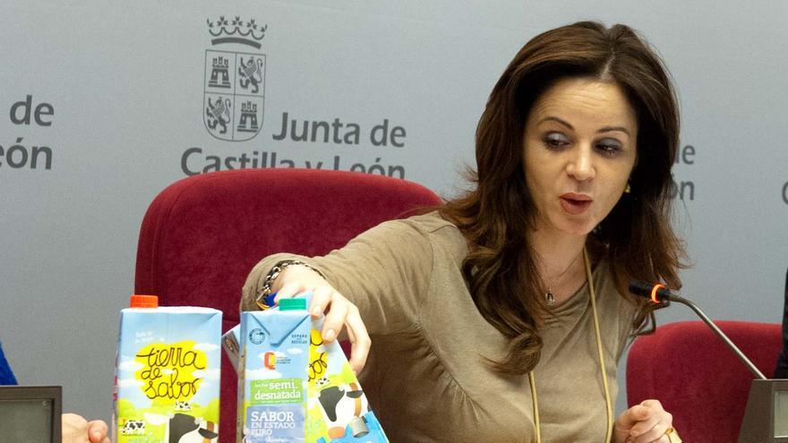 Silvia Clemente, consejera de Agricultura y Ganadería de Castilla y León.