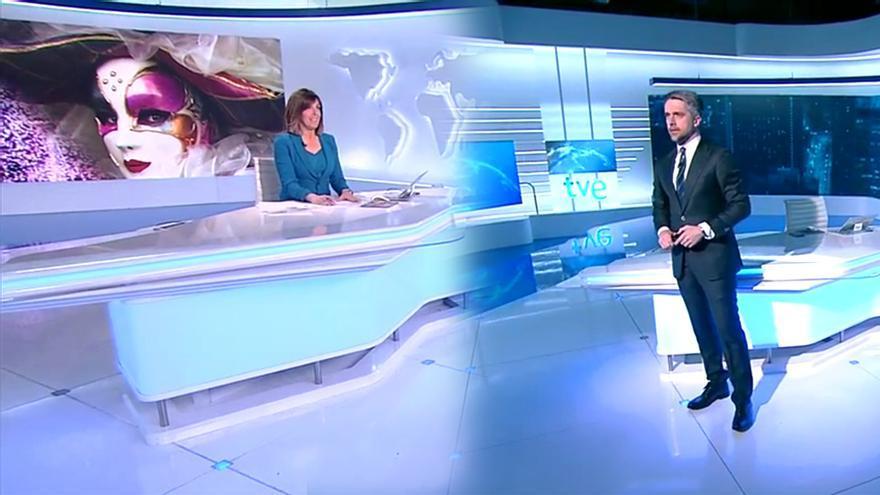 Ana Blanco y Carlos Franganillo, presentadores de los Telediarios