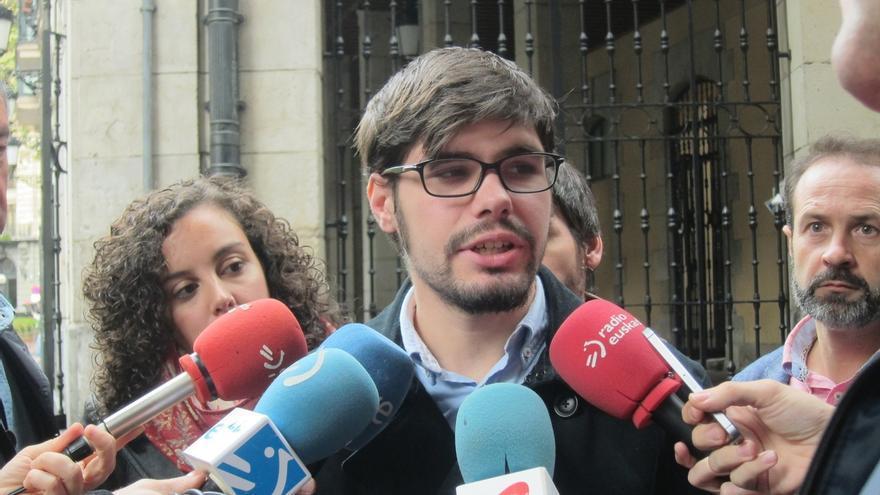 Lander Martínez se presentará como candidato para sustituir a Nagua Alba al frente de Podemos Euskadi