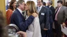 María Dolores de Cospedal y su marido, Ignacio López del Hierro / Foto: Europa Press