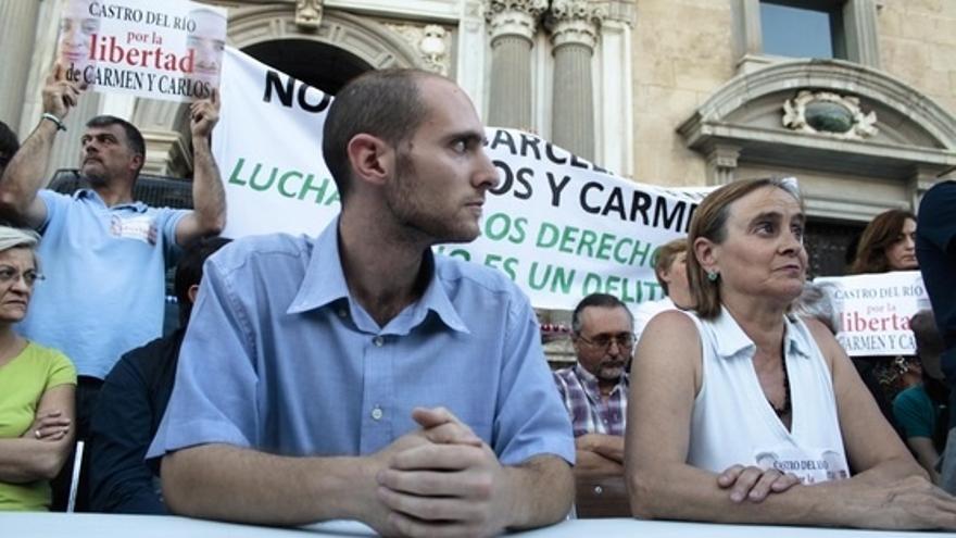 La Audiencia también suspende la pena a la otra condenada a prisión por un piquete de huelga