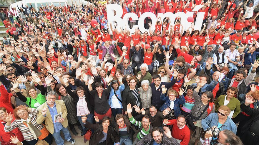Barcelona En Comú ha presentado su programa ante cientos de personas en Nou Barris / @bcnencomu