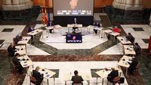 Reunión del presidente Lambán con todos los actores para la puesta en marcha del Programa de Recuperación Económica y Social