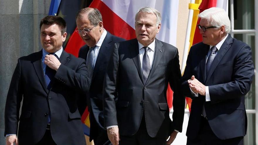 El cuarteto de Normandía apoya la misión policial de la OSCE en el este de Ucrania
