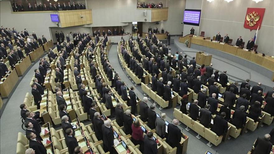Enfrentamientos frente a la Duma rusa por el debate de la ley contra la propaganda homosexual