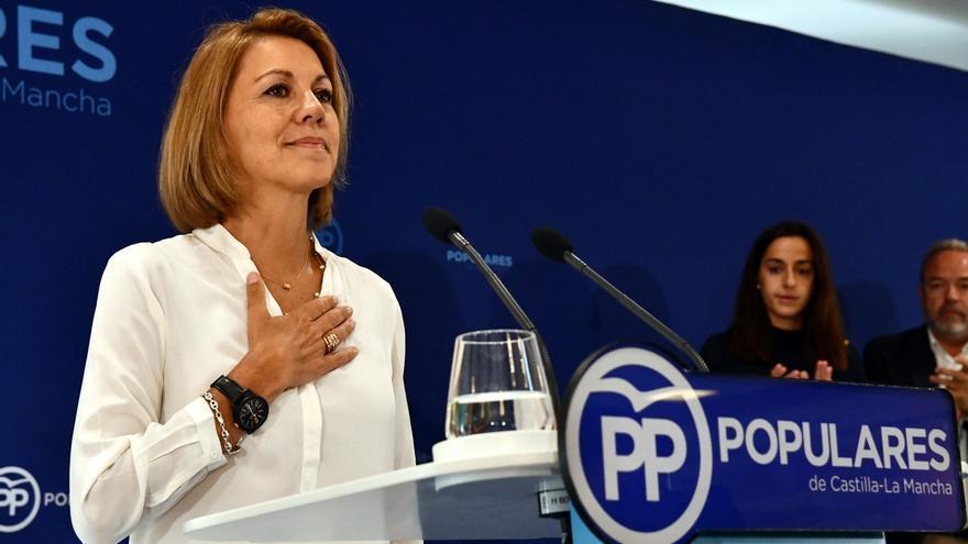 Cospedal renuncia a su puesto en el Comité Ejecutivo del PP pero mantiene su escaño de diputada en el Congreso
